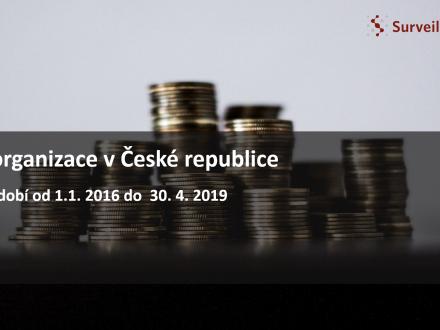 Reorganizace v ČR 2016 - 2019