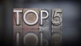 Surveilligence's Top 5 Fraud Chart 02/2014
