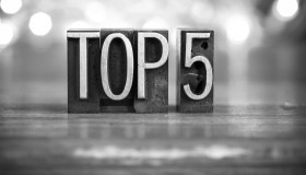Surveilligence's Top 5 Fraud Chart 03/2014